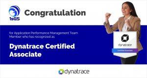 Certified of Dynatrace Associate - ISGS