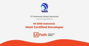Certified of UiPath 1.1 - ISGS