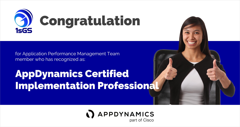 ISGS AppDynamics Certified